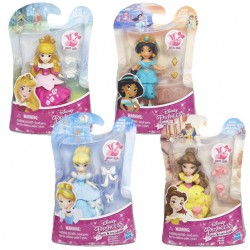 Disney Princess Small Dolls - 4 Designs