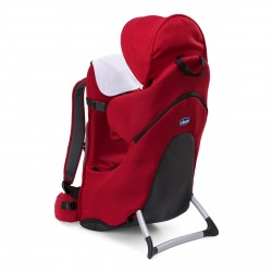 Chicco Light and Comfortable Backpack Finder Stone - Black/ Red