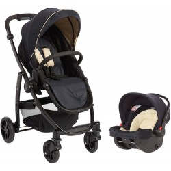Graco Evo Avant Travel System - Navy & Sand