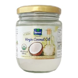 Parachute Coconut Oil Organic 100% 500ml (Glass Jar)
