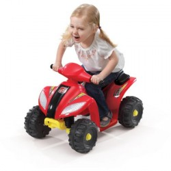 Step 2 Mini Quad 6-Volt Battery-Powered Ride-On - Red