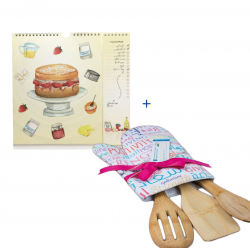 Chef Offer - Cooking Book + Wooden Ladle Set