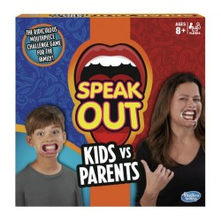 Speak Out Kids vs Parents Game From Hasbro Gaming