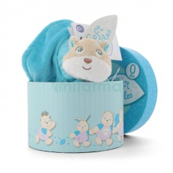 Chicco - Blanket Fox - Blue (with gift box)