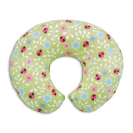 Chicco Boppy Pillow Cotton Slipcover - Ladybug