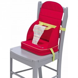 Safety 1st Travel Booster For Chair Red Dot