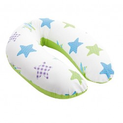 Doomoo Buddy Multi-Use Breastfeeding Pillow Patchwork (Lime)