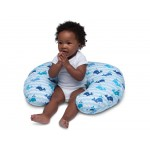 Chicco Boppy Pillow Cotton Slipcover - Blue Whale