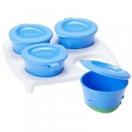 Tommee Tippee Explora 4 Pop Up Freezer Pots and Tray, +4 months