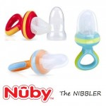 Nuby 1 pack nibbler food vegetable mesh feeders