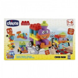 Chicco Toy Building Blocks Vehicles Set 40pc