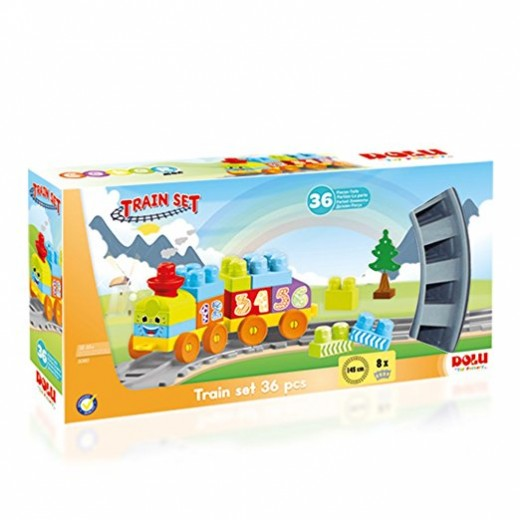 Dolu Train Set 36 PCS