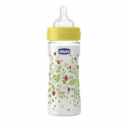 Chicco Well Being Bottle Silicone Adjustable Flow