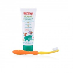 Nuby All Natural Toddler Training Toothpaste (Yellow)
