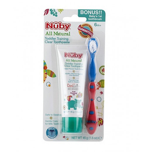 Nuby All Natural Toddler Training Toothpaste
