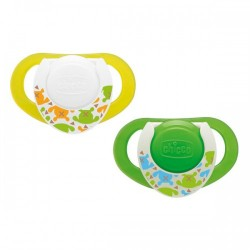 Chicco Physio Compact Latex Lace Socket (6-12 months), 2 pcs.