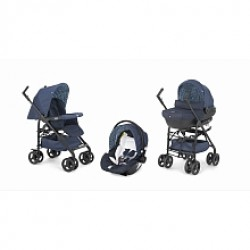 Chicco Sprint Black Midnight Trio Stroller