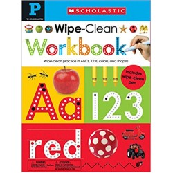 Wipe Clean Workbook: Pre-K