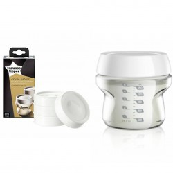 Tommee Tippee Closed to Nature 4 x Milk Storage Lids