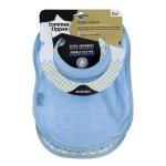 Tommee Tippee Closer to Nature 2 Milk Feeding Bibs (Available in 3 Colors)