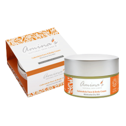 Amina's Organic Calendula Face & Body Cream 120ml