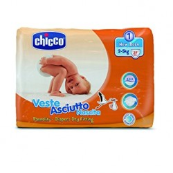 Chicco Veste ASCIUTTO Newborn 2-5 Kg Size 1 Pack of 20
