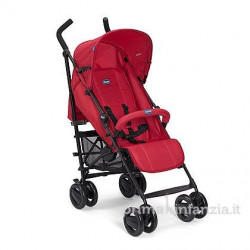 London Up Stroller With Bumper Bar  Red Passion