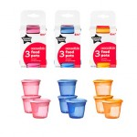 Tommee Tippee Blue 3 Food Pots (4M+) (Available in 3 Colors)