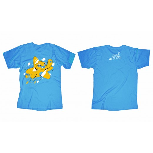 Adam Wa Mishmish T-Shirt for Toddlers - Blue