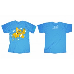 Adam Wa Mishmish T-Shirt for Children - Blue