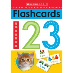 Scholastic Early Learners Write and Wipe Flashcards: 123 Cards