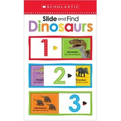 Scholastic Early Learners Slide and Find Dinosaurs