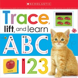 Scholastic Early Learners Trace, Lift, and Learn: ABC 123