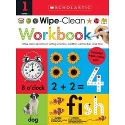 Wipe Clean Workbook: 1st Grade