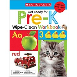 Scholastic Early Learners Wipe-Clean Workbook: Get Ready for Pre-K