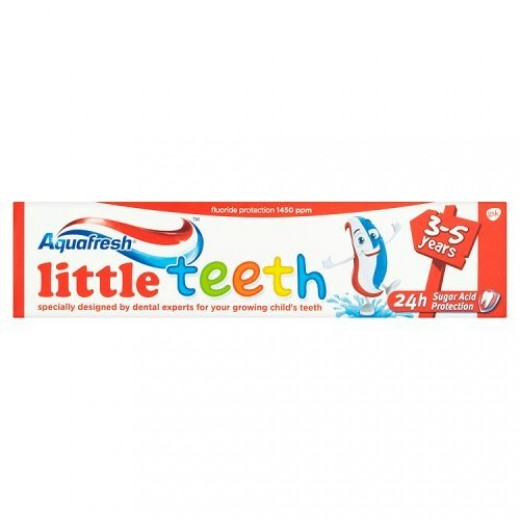 Aquafresh Little Teeth Toothpaste 3-5 Years (50ml)