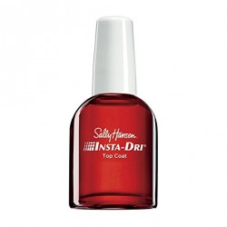 Sally Hansen Insta-Dri Anti-Chip Top Coat, Clear, Fast-Drying Nail Lacquer Topcoat