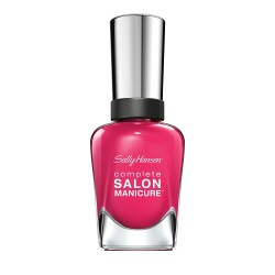 Sally Hansen Complete Salon Manicure Nail Polish, Pink and Red Shades - Cherry Up