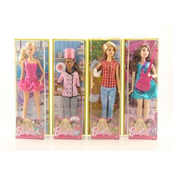 Barbie Careers Doll - 4 Types