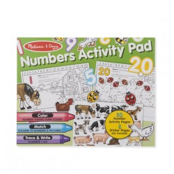 Melissa & Dough Numbers Activity Pad