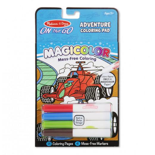 Melissa & Dough Magicolor - On the Go - Games & Adventure Coloring Pad
