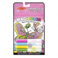 Melissa & Dough Magicolor - On the Go - Friends & Fun Coloring Pad