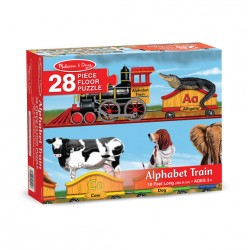 Melissa & Doug Alphabet Train Floor Puzzle - 28 Pieces
