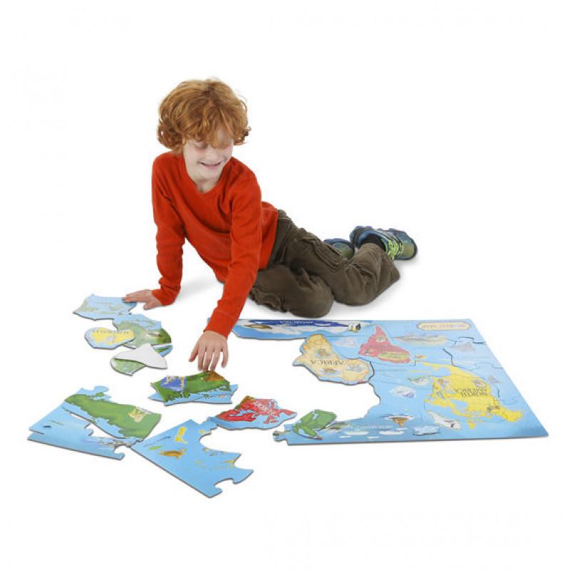 melissa doug world map floor 33