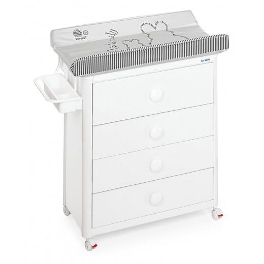Brevi Changing Dresser Olimpia - White