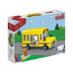 Banbao Construction Kit Snoopy School Bus 249-Pieces