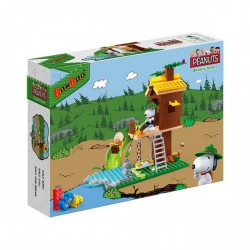 Banbao Construction Kit Snoopy Lookout Tower 195-Piece