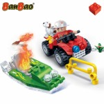 Banbao Firemen Car And Boat