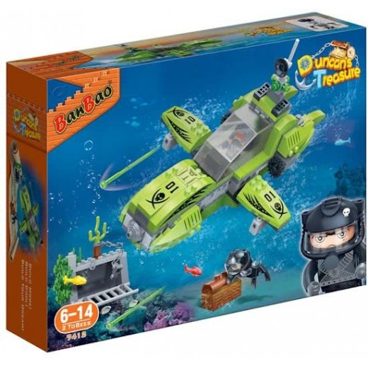 BanBao Construction Kit Submarine 203-Piece