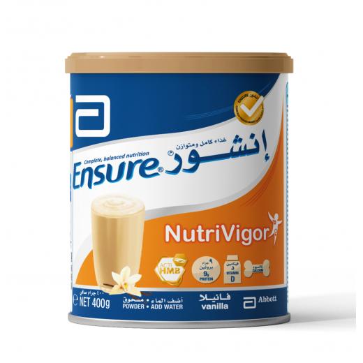 Abbott - Ensure Nutrivigor 400 g - Vanilla
